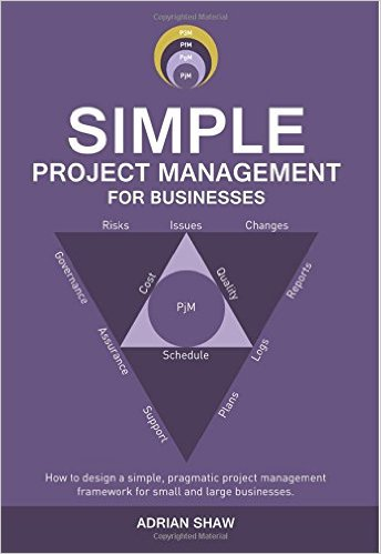 Adrian Shaw Project Management Book Front